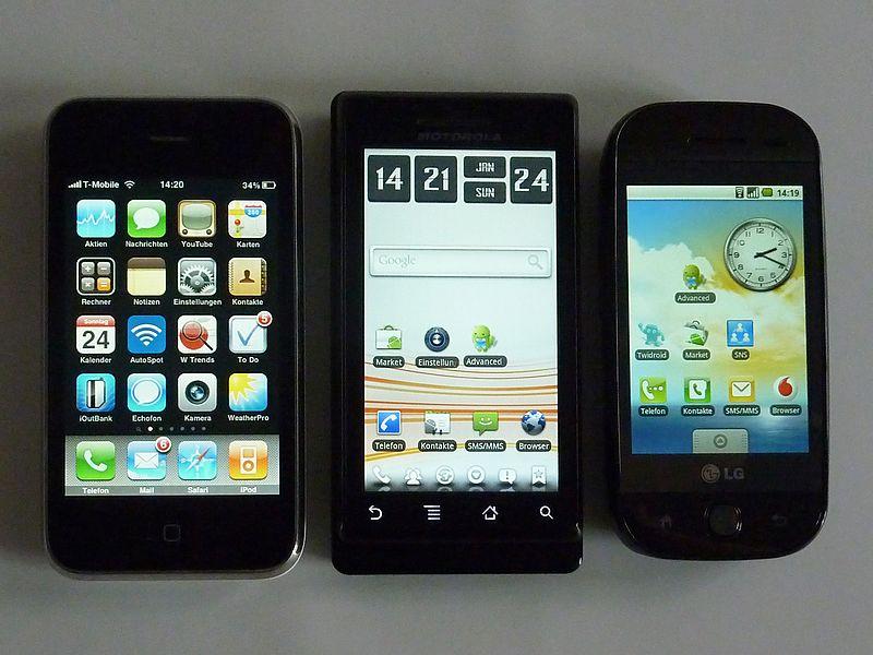 Доля продаж смартфонов в общем обороте розницы мобильных устройств к Новому