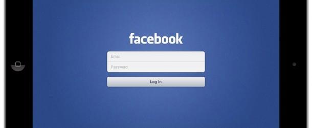 Facebook iPad App Released Today