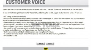 Apple iTV coming soon? Best Buy thinks so