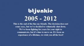 BTJunkie Shuts Down Voluntarily