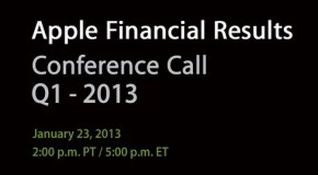 Live: Apple Q1 2013 Earnings Conference Call