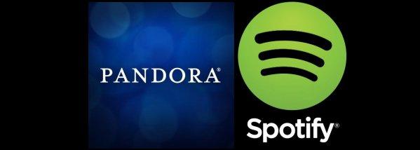 Pandora Reports Slight Loss; Spotify Raises $250 Million